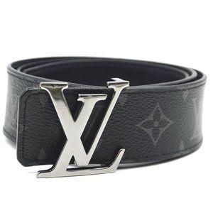 Louis Vuitton Monogram Eclipse 40mm Lv Logo Belt